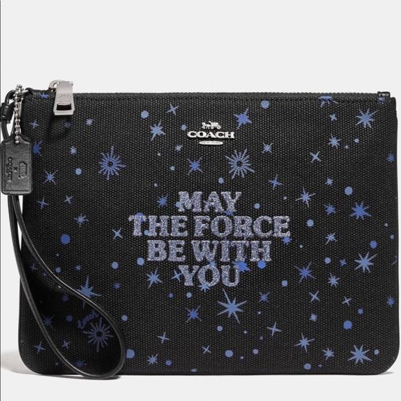 Coach Handbags - NWT Star Wars X Coach Gallery Pouch